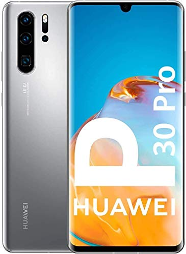 HUAWEI P30 Pro New Edition - Smartphone 256GB, 8GB RAM, Dual Sim, Silver Frost