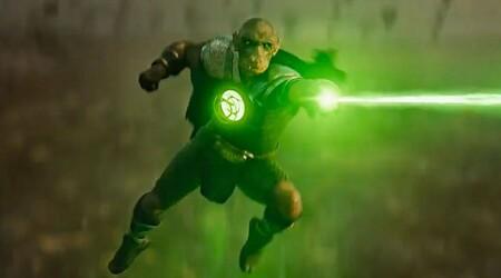 El Green Lantern de la Liga de la Justicia