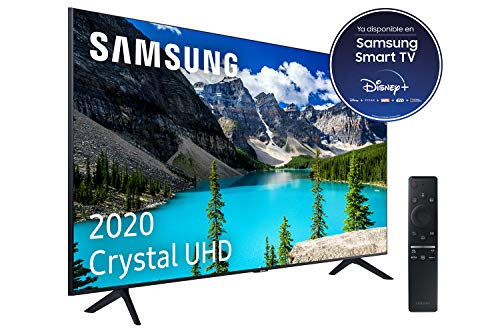 "Samsung Crystal UHD 2020 50TU8005 - Smart TV de 50"" con Resolución 4K, HDR 10+, Crystal Display, Procesador 4K, PurColor, Sonido Inteligente, One Remote Control y Asistentes de Voz Integrados"