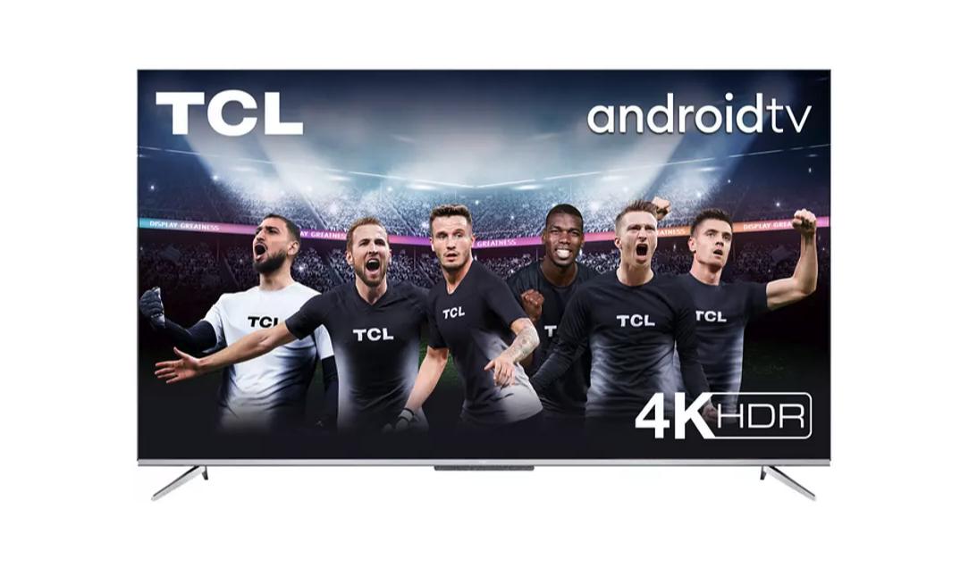 TCL 55P715, 4K UHD, Android TV, Control por voz, Smart TV, Dolby Atmos, DVB-T2, 9.5 W, CMR,