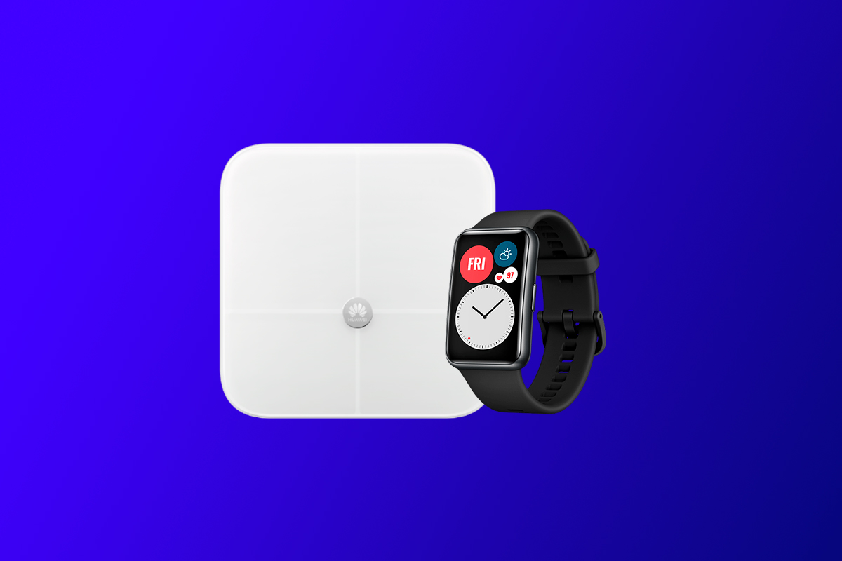 Huawei Watch Fit + báscula Body Fat Scale