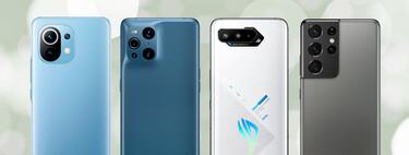 Los mejores móviles del año (2021): sus análisis y vídeos están aquí