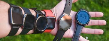 El mejor smartwatch (2021): guía de compra y comparativa