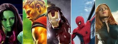 Todas las películas del Universo Marvel ordenadas de peor a mejor