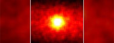 Esta foto del sol fue tomada de noche, desde una mina de Japón y mirando a través de la tierra en vez de al cielo
