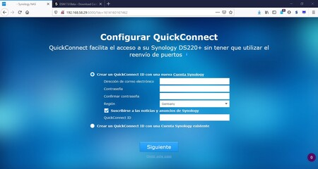 Nas Quickconnect