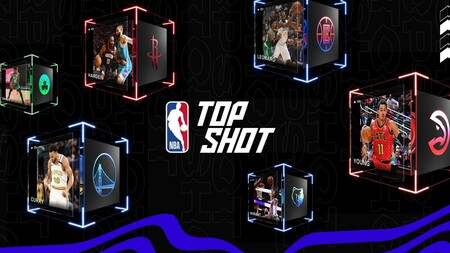 NBA Top Shot, la web de compra y venta de NFT de la NBA.