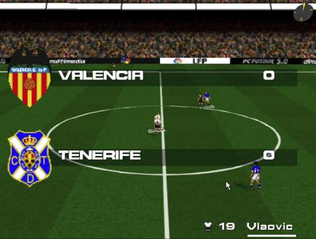 PC Fútbol 5.0 partido