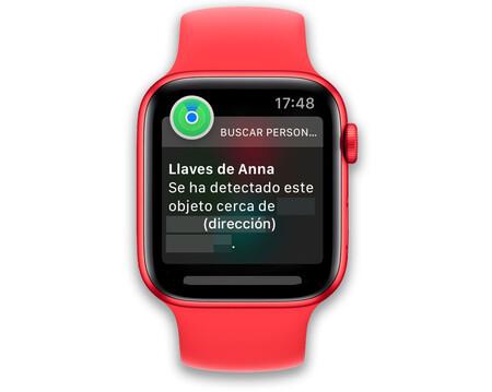 Apple Watch Notificacion