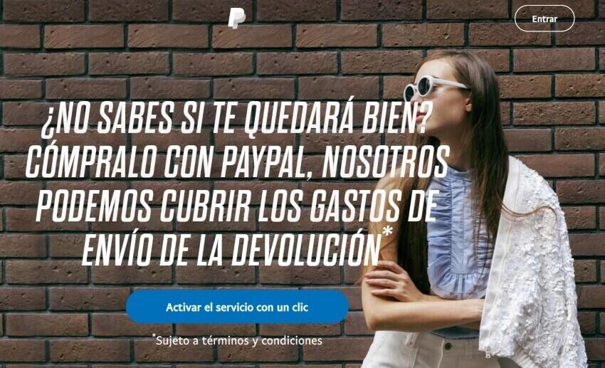Ejemplo de propuesta de valor: Paypal