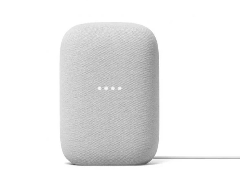 Google Nest Audio Altavoz Inteligente (Tiza)