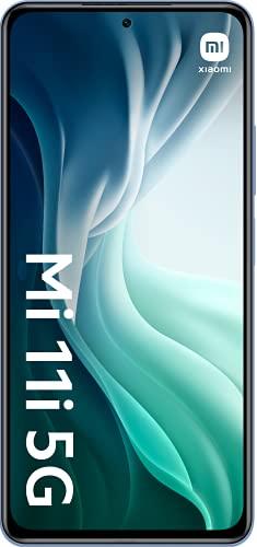 Xiaomi Mi 11i 5G - Smartphone 6.67'' (WiFi, Bluetooth 4.0, Qualcomm Snapdragon 888 2.84GHz, 128 GB de memoria interna, 8 GB de RAM, cámara de 108 MP), Plata [Versión ES/PT]