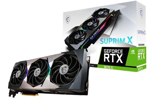 Tarjeta Gráfica MSI GeForce RTX 3070 Ti Suprim X 8GB GDDR6X (3 x DisplayPort 1.4a , 1 x HDMI 2.1)