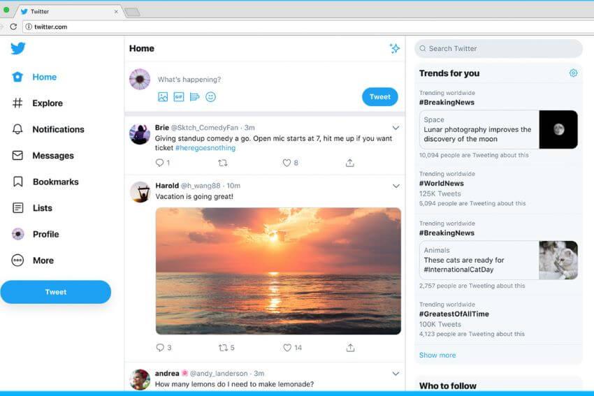 RRSS empresas: Twitter