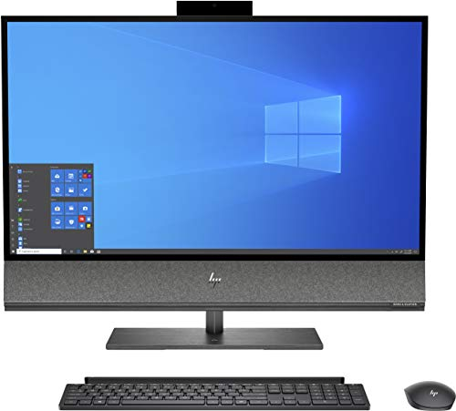"HP Envy 32-a1001ng 80 cm (31,5"") 3840 x 2160 procesadores Intel® CoreTM i7 de 10. Generación 32 GB DDR4-SDRAM 3000 GB HDD + SSD NVIDIA® GeForce RTXTM 2070 Wi-Fi 6 Negro All-in-One PC Windows 10 Home"